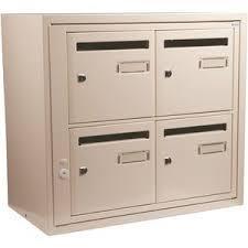 boites aux lettres et portes d 39 entrees immeubles boites aux lettres collectives serrurerie. Black Bedroom Furniture Sets. Home Design Ideas