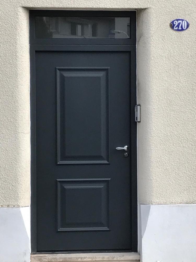 imposte vitre beautiful porte duentre en chne massif avec imposte vitre double vitrage. Black Bedroom Furniture Sets. Home Design Ideas